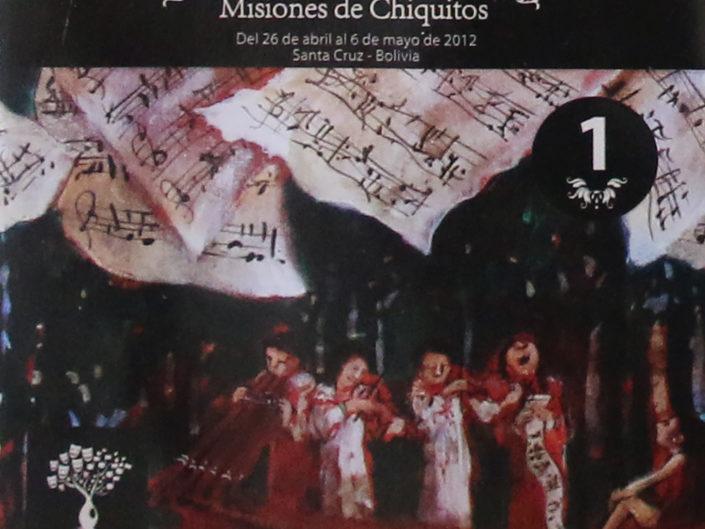 "IX Festival internacional ""Misiones de Chiquitos"" 2012"