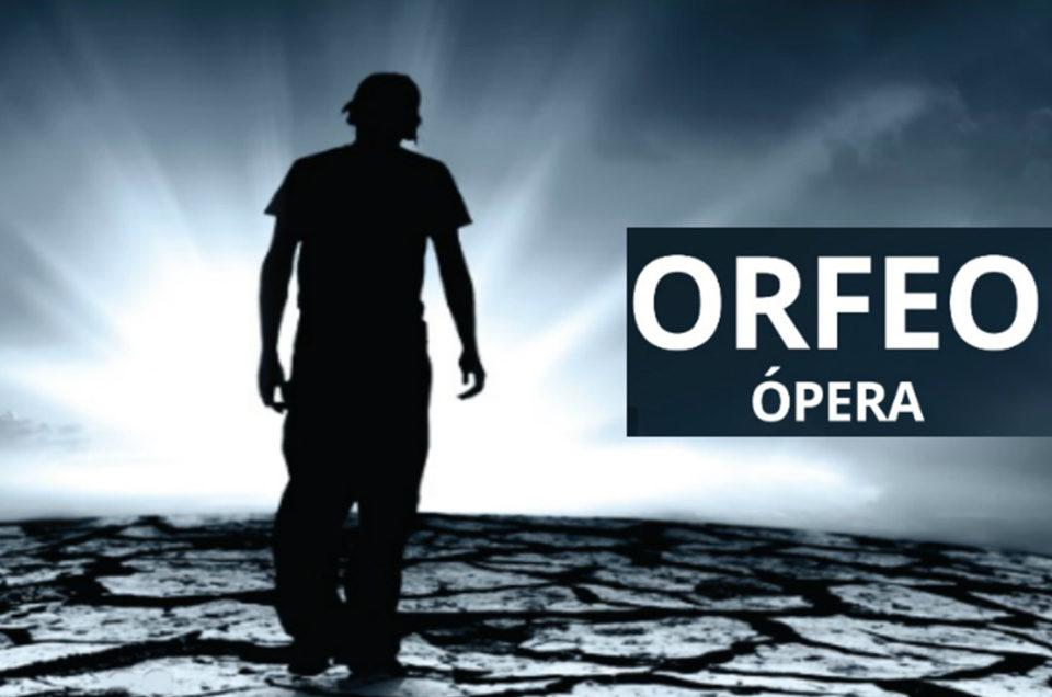 29/30 Sept 1 de Oct: Ópera  Orfeo - De Monteverdi